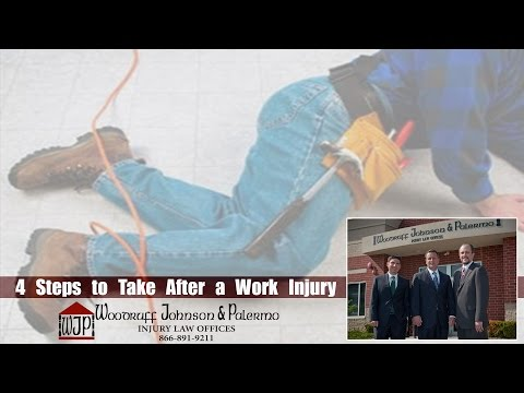 What Should You Do After Sustaining a Work Injury? | Naperville Workers' Compensation Lawyers