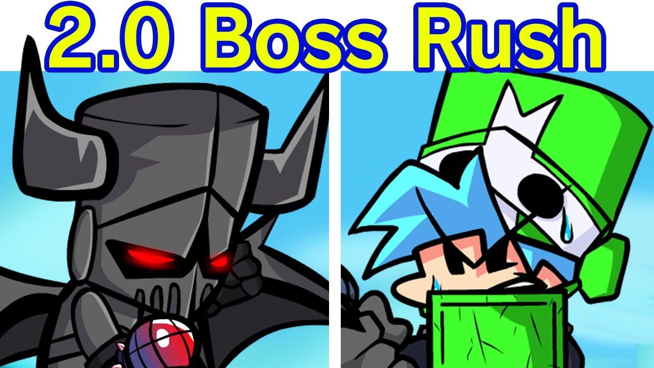 Friday Night Funkin' VS Castle Crashers Boss Rush REVIVED FULL WEEK (FNF Mod) (Necromancer + More)