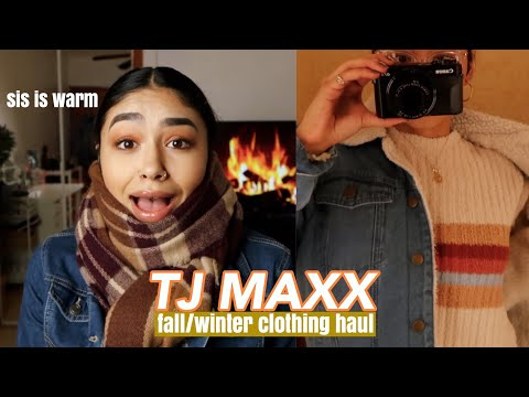 🍁FALL/WINTER CLOTHING HAUL | TJ MAXX FINDS 🍂