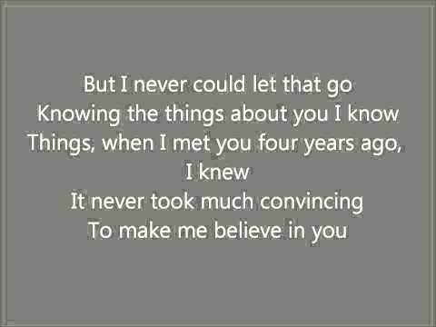 If I Didn't Believe In You Karaoke / Instrumental The Last 5 Years