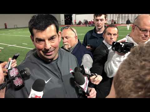 Ryan Day meets the media 11/13/18