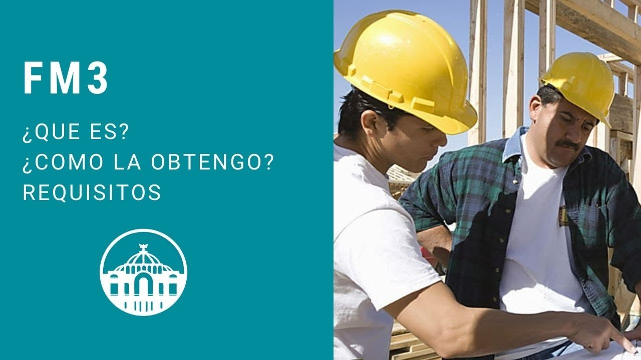 What is FM3 or a job permission in Mexico?
