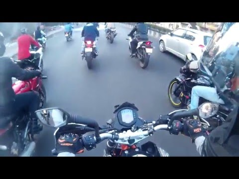 Republic Day Ride 2016 with Team Soul Riders Pune | Raw Footage | First Motovlog | KTM Duke 390