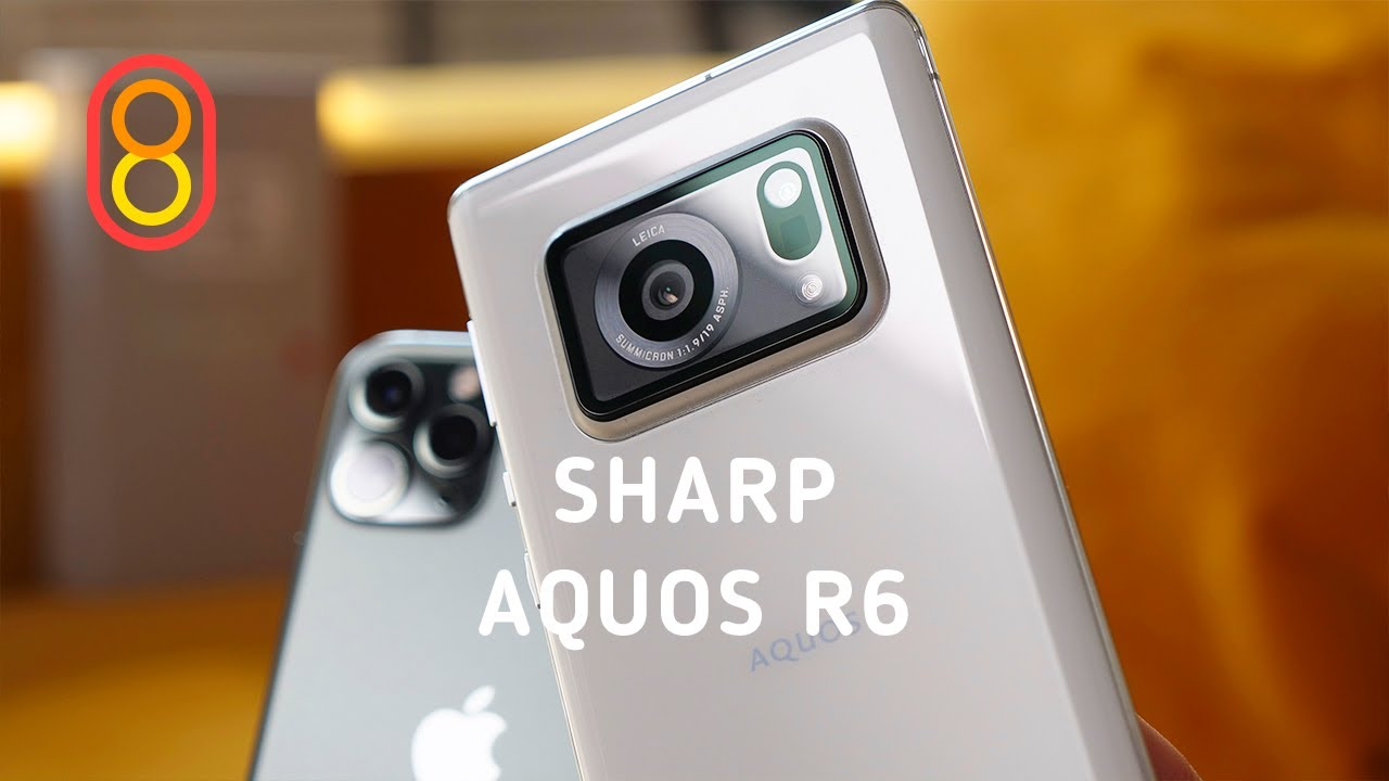 Обзор Sharp Aquos R6 — ОГРОМНАЯ камера!