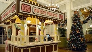 NEW Gingerbread House at Disney