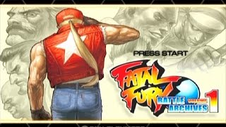 Fatal Fury: Battle Archives Volume 1 ... (PS2)