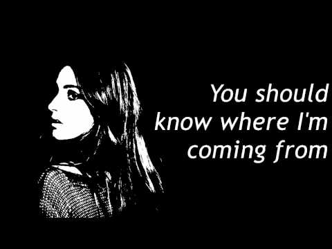 Banks - You should know where i'm coming from [Lyric video]