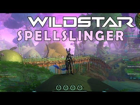 WILDSTAR (FREE TO PLAY MMO) – SPELLSLINGER (AURIN) GAMEPLAY EM PORTUGUÊS (PT-BR)