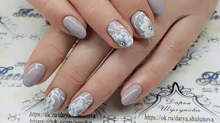 видео Китайская роспись ногтей: фото и технология выполнения.