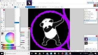 Dabbing Panda   Speed Art