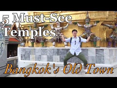 7 MUST-SEE TEMPLES in BANGKOK's OLD TOWN, Thailand