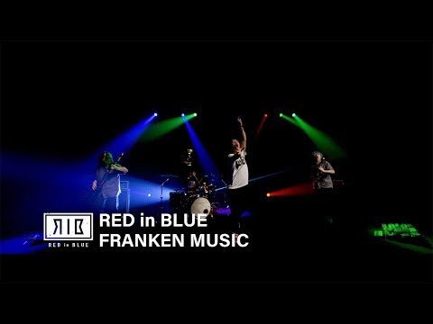 RED in BLUE - 『FRANKEN MUSIC』MV