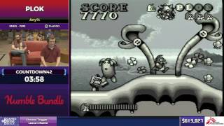 Plok by Countdown42 in 31:08 - SGDQ2017 - Part 88