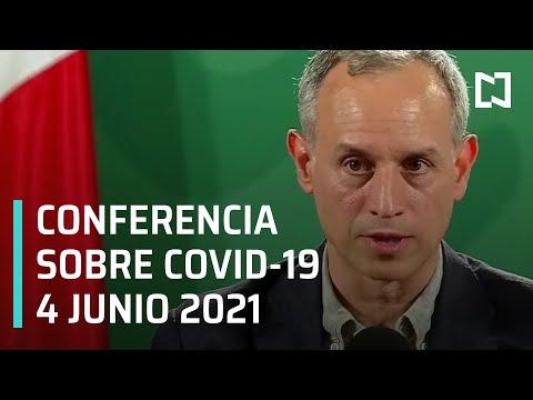 Informe Diario Covid-19 en México - 4 junio 2021