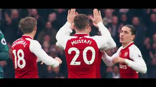 NORTH LONDON IS RED   Arsenal 2   0 Tottenham   EXCLUSIVE MINI MOVIE   Goals and highlights