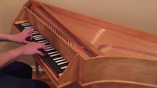 Zuckermann Bentside Spinet - Coranto in A minor, William Byrd