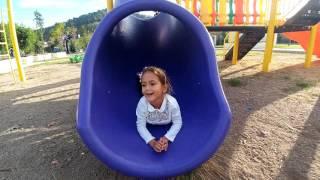 Maşa ve elifin park keyfi , eğlenceli çocuk videosu