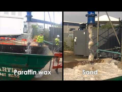 Ice Pigging Oil Pipes: Wax and Sand Removal - SUEZ