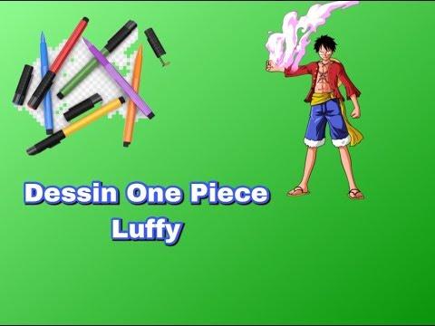 Dessin One Piece Luffy Youtube