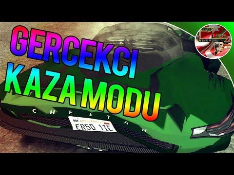 Gta San Andreas #109 | Gerçekçi Kaza Modu| Insane Car Crashing Mod | İndir |Download