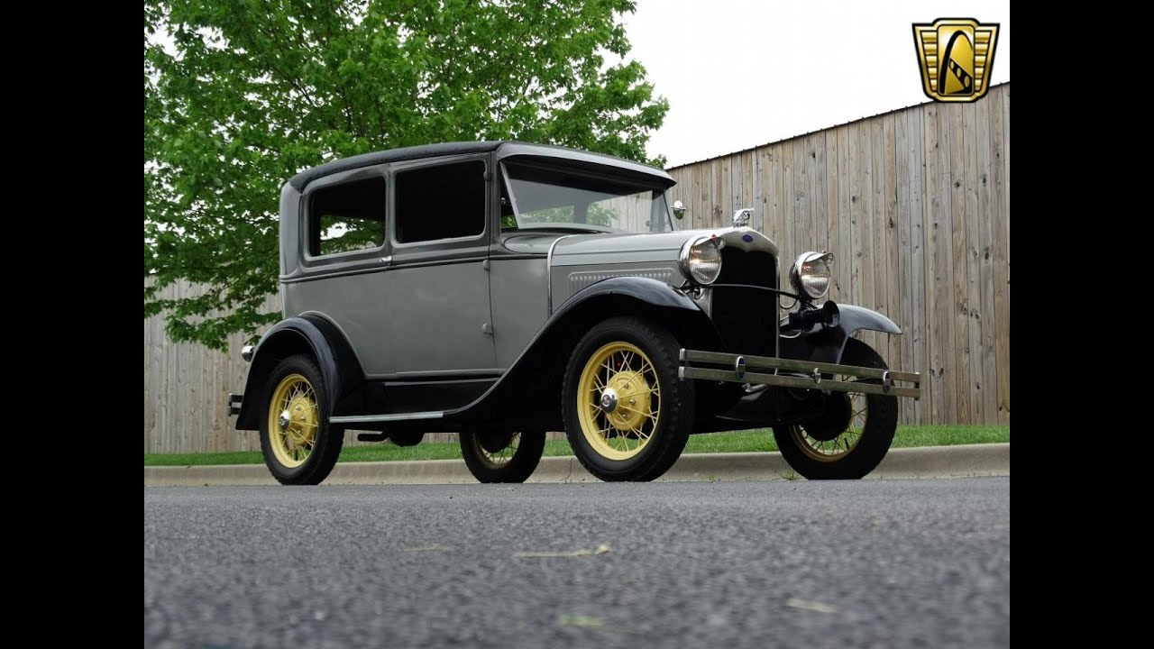 6864 1930 Ford Model A - Gateway Classic Cars St. Louis - YouTube