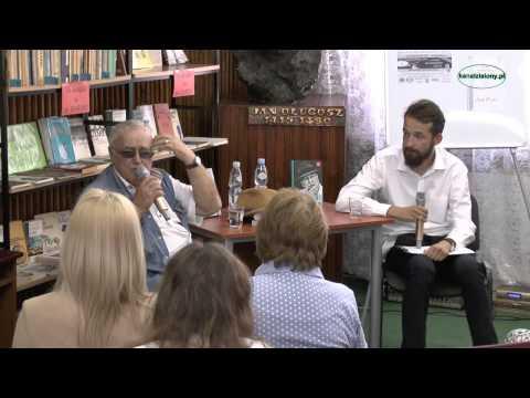 Jan Nowicki w Kłobucku ...  III finał akcji Wspieraj Kulturę - Książki Na Wagę Złota 27.06.2014