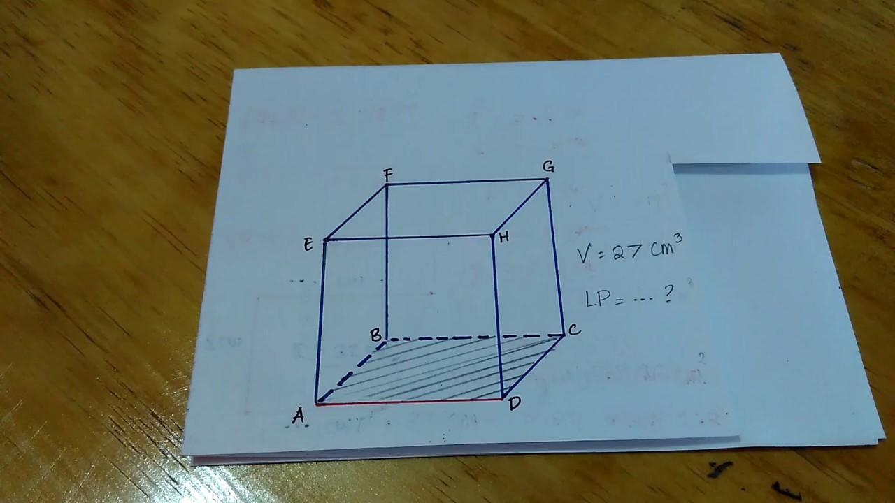Cara Menghitung Luas Permukaan Kubus Jika Diketahui ...