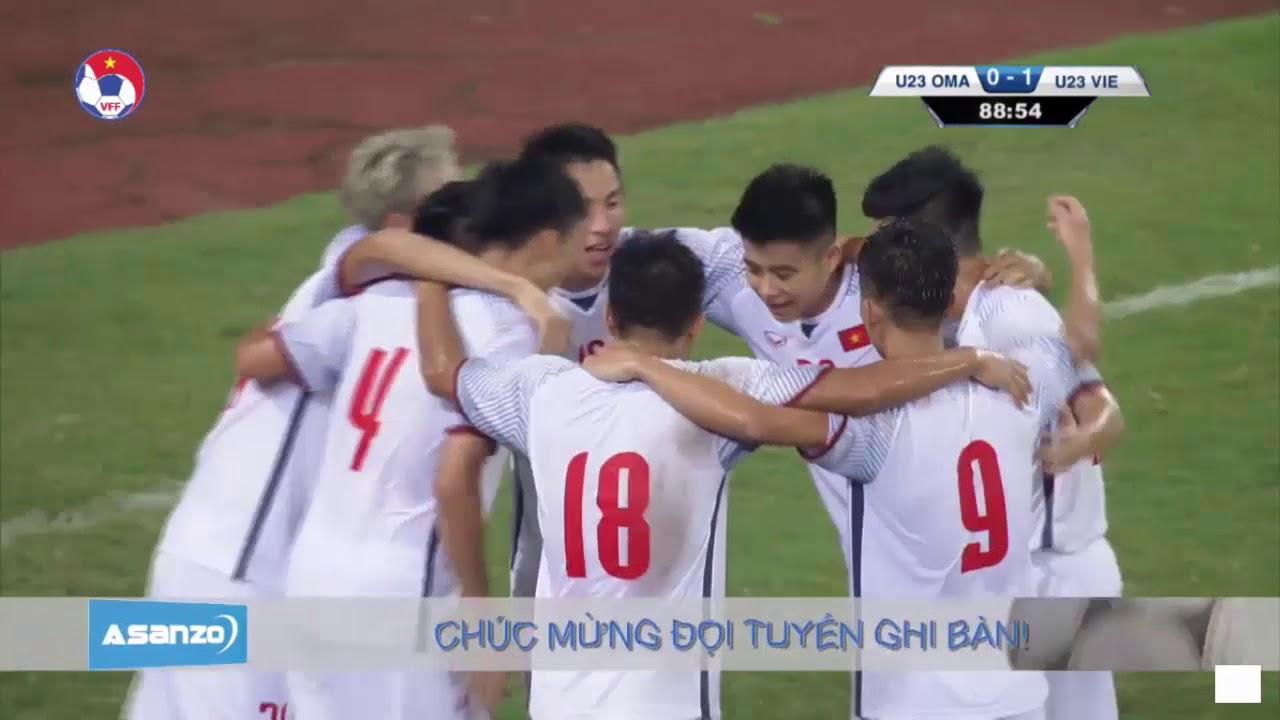 Tuyển thủ Olympic Việt Nam vẽ cầu vồng ở Mỹ Đình