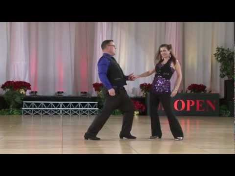 Pro-Am Leaders routine with Robert (Chicken) McChesney and Yvonne Wayne