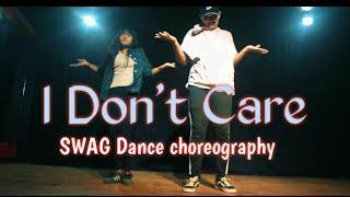 Ed Sheeran &  Justin Bieber - I Don't Care , SWAG Dance choreography by Ghetto Dance Studio
