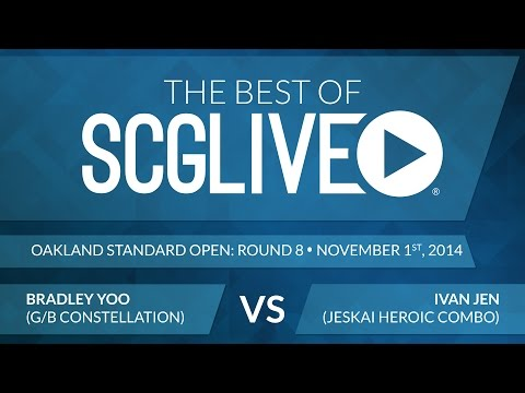 Best of SCGLive 2014 - Bradley Yoo Vs. Ivan Jen [Magic: the Gathering]