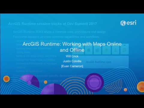 ArcGIS Runtime: Working with Maps Online and Offline