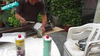 lavorare con la vetroresina un paraurti