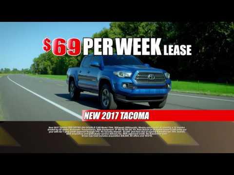 2017 Tacoma Lease Deal Construction At Toyota Of Santa Fe | New Mexico Toyota Dealer