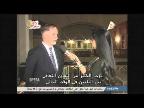 Ambassador Beecroft's Interview with Egyptian TV