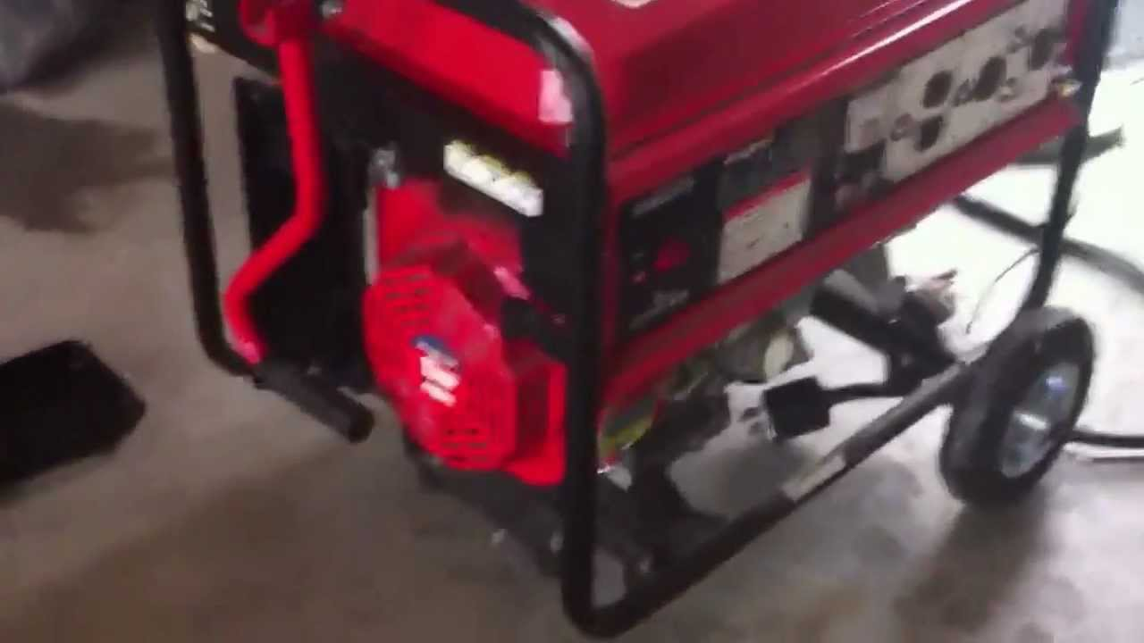 King craft 6000 w aldi generator  YouTube