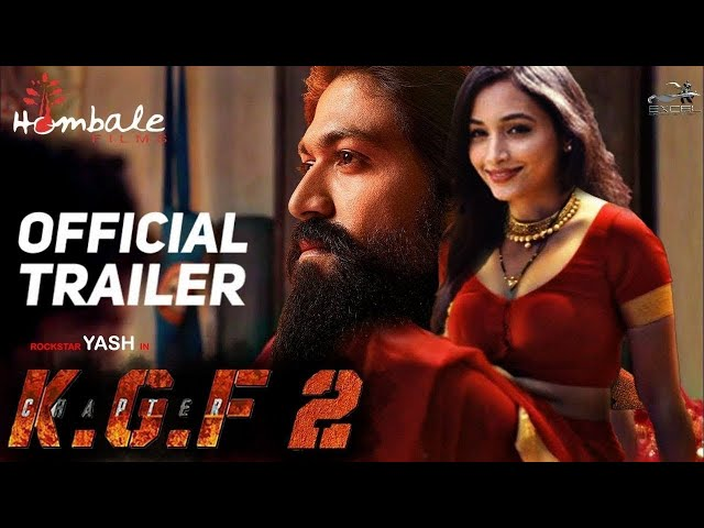 K.G.F Chapter 2 Official Trailer | Yash | Srinidhi Shetty |Sanjay Dutt |Prashanth N |Concept Trailer