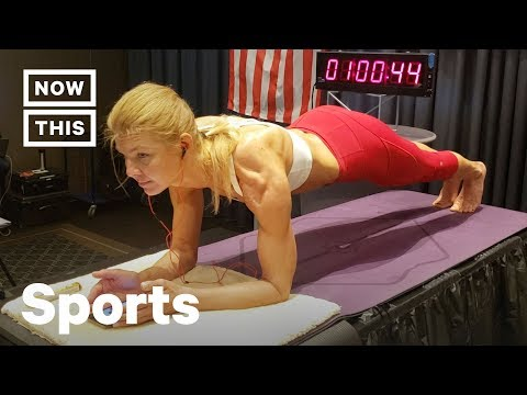 Athlete Breaks Record for Longest Plank by a Woman | NowThis