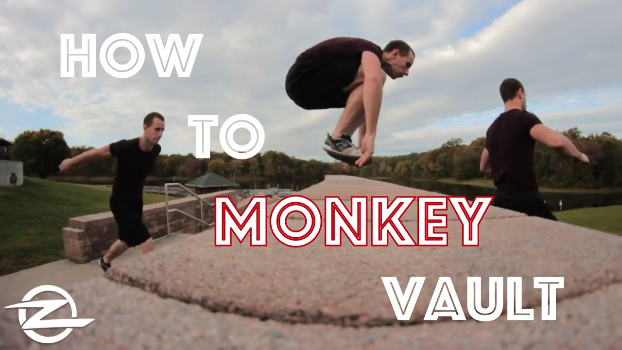 How to parkour kong vault/monkey vault.