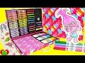 Trolls Glitter Scrapbook Kit Poppy Coloring Pages and Surprises