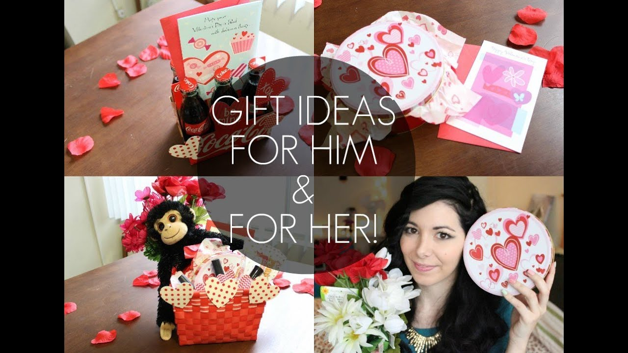valentines day gift ideas for him and for her youtube