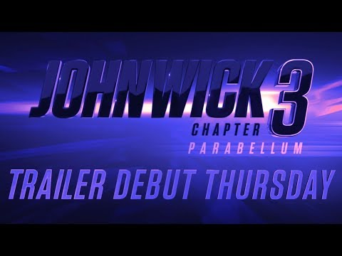 DJ MoonDawg - WHOA! John Wick 3 is coming! Check the teaser trailer