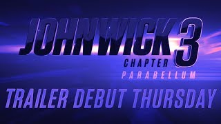 John Wick: Chapter 3 - Parabellum (2019 Movie) Official Trailer Tease - Keanu Reeves, Halle Berry
