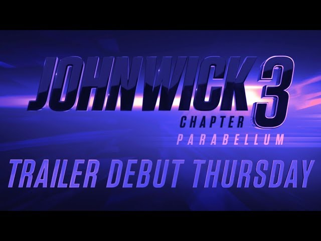 John Wick: Chapter 3 - Parabellum (2019 Movie) Official Trailer Tease – Keanu Reeves, Halle Berry