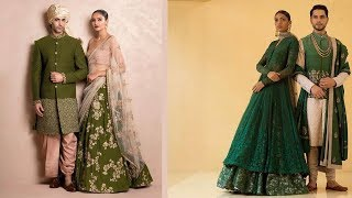 Latest Green Silk Lehenga Designs 2018