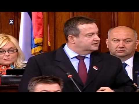 Ivica Dačić: Nisam izdajnik! (Skupština, 26. 04. 2013)