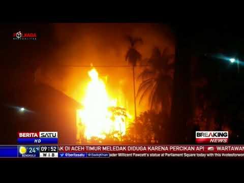 10 Orang Tewas dalam Kebakaran Sumur Minyak di Aceh