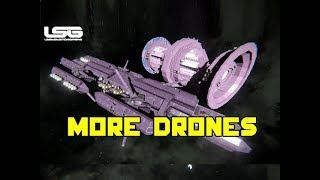 Drone Hive Under Construction - Space Engines