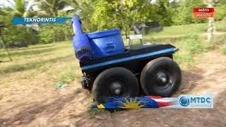Teknorintis  Robot FARMO tingkat keupayaan pertanian pintar