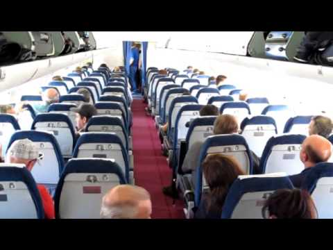 Belavia Tupolev 154-M Flight.